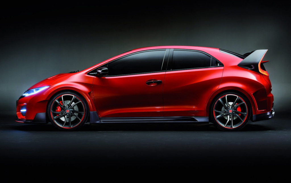 Honda Civic Type R 2015 - Side Shot