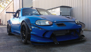 SR20 Time Attack MX5 Floor