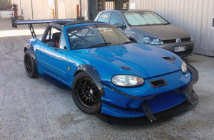 SR20 Time Attack MX5 Front