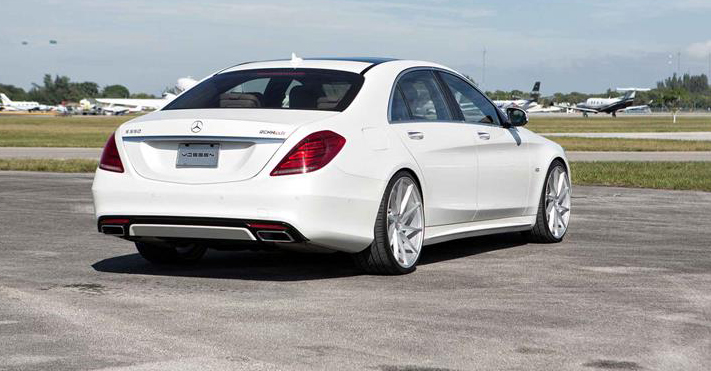 Doped Mercedes S550