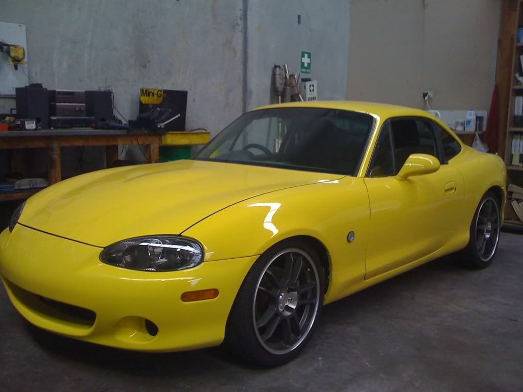 Mazda Mx 5 Coupe Type A Scrm Garage