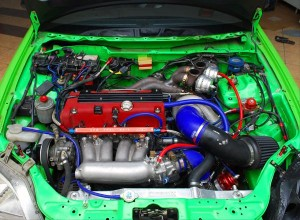 HULK Civic Engine Bay