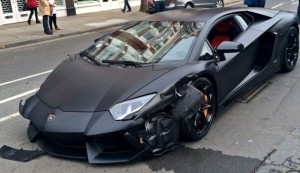Aventador Collision in London