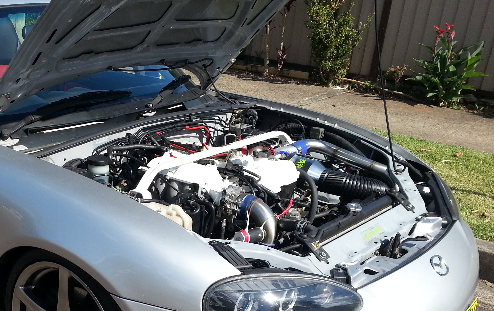 MX5 NB8B Turbo Front Bonnet